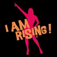 I am rising - schwarzer Hintergrund