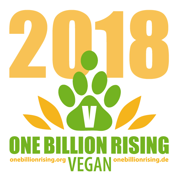 One Billion Rising Germany Deutschland 2018 VEGAN