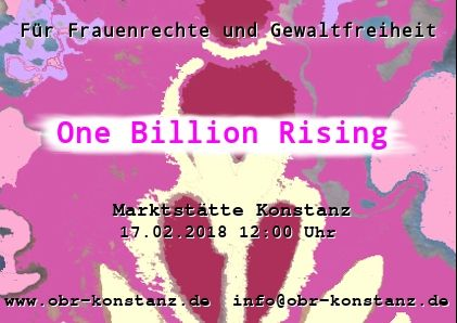 Konstanz 2018 - One Billion Rising