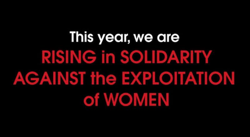 Solidarity against exploitation of women