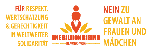 Banner Braunschweig - One Billion Rising