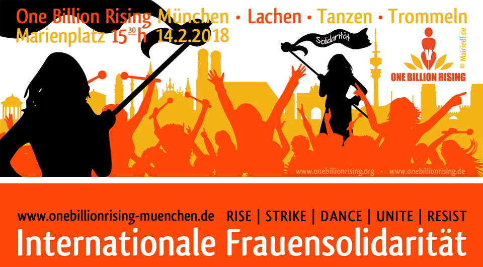 One Billion Rising München 2018
