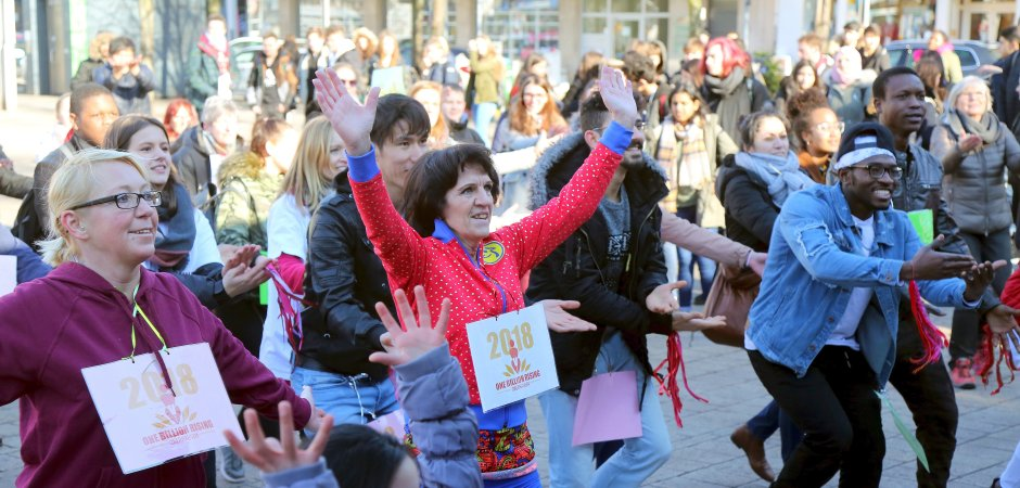 One Billion Rising Oberhausen - Foto: Kerstin Bögeholz