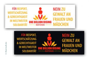 Banner One Billion Rising