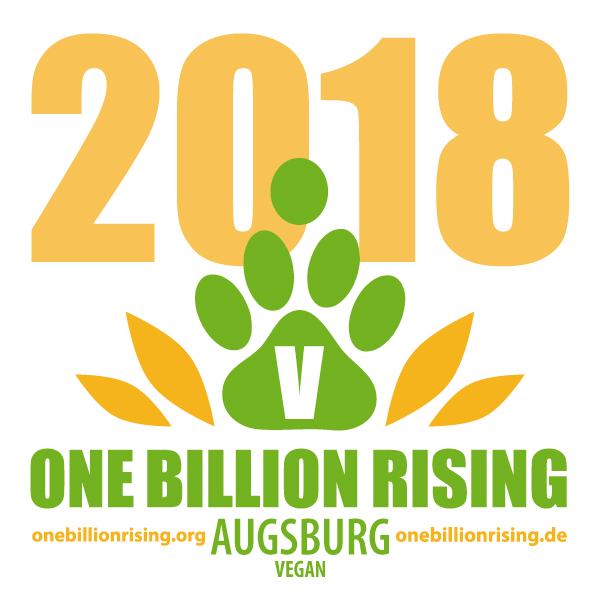 Augsburg vegan 2018 - One Billion Rising