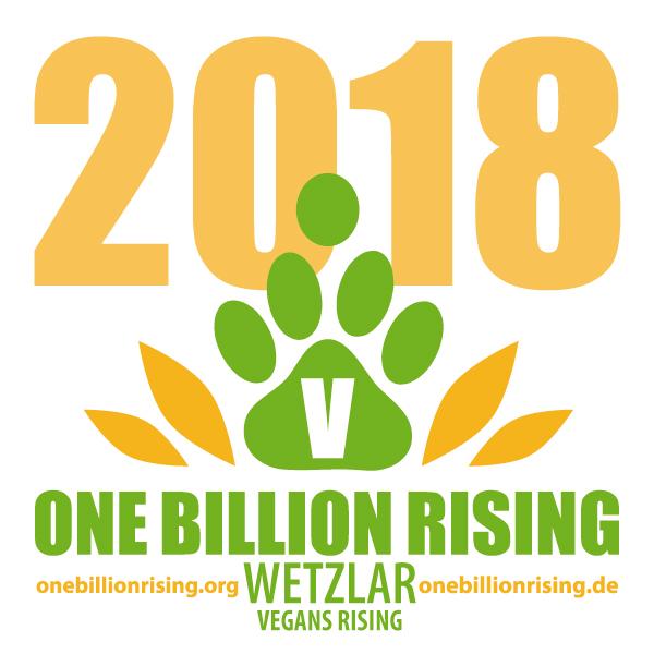 Wetzlar vegan 2018 - One Billion Rising - Vegans Rising