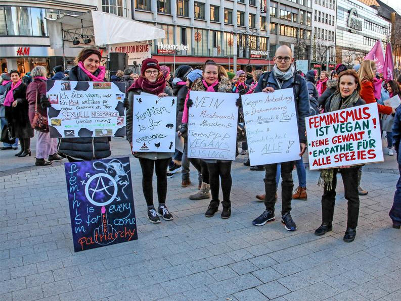 Hannover (vegan) 2018 - One Billion Rising
