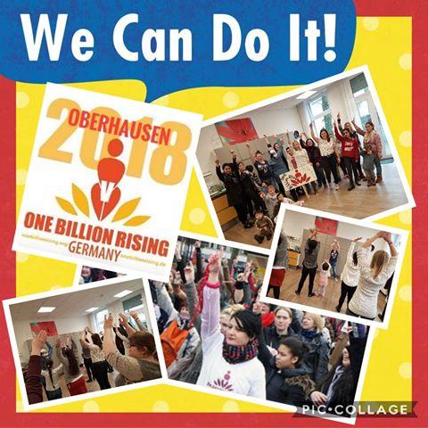 Oberhausen 2018 - One Billion Rising