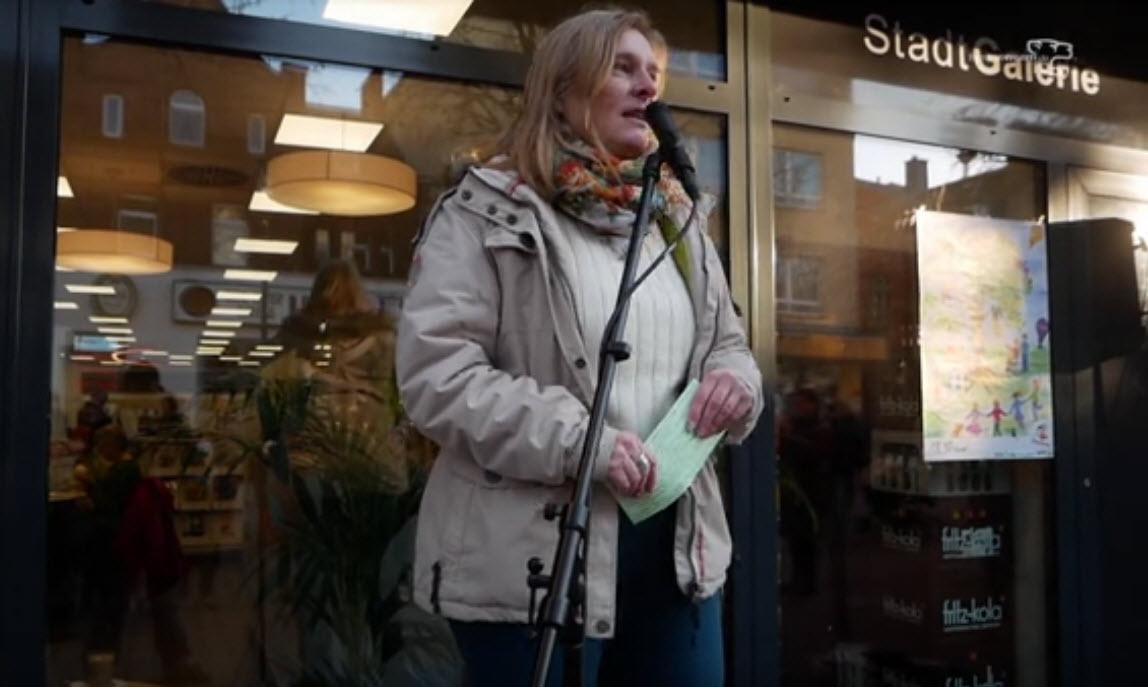 Redebeitrag Wetzlar - One Billion Rising 2018 - Petra Schneider