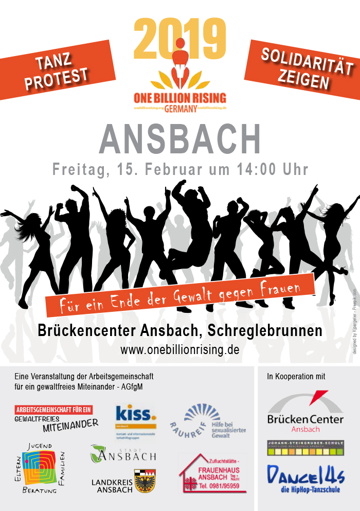 One Billion Rising 2019 Ansbach