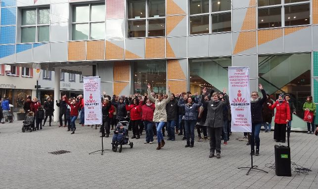 One Billion Rising - Lörrach - Foto: privat