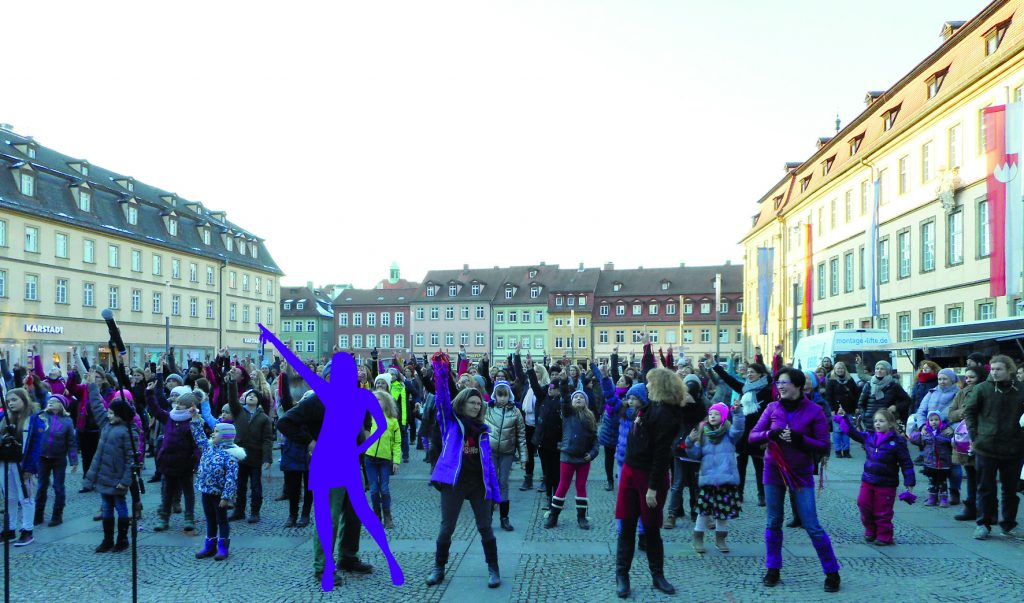 One Billion Rising Bamberg - Foto privat