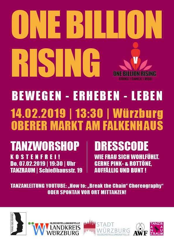 ONE BILLION RISING 2019 Würzburg
