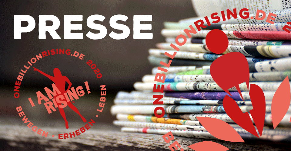 One Billion Rising 2020 Presse