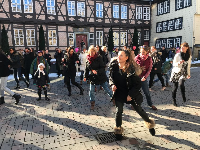 One Billion Rising 2018 Goslar - Foto: privat
