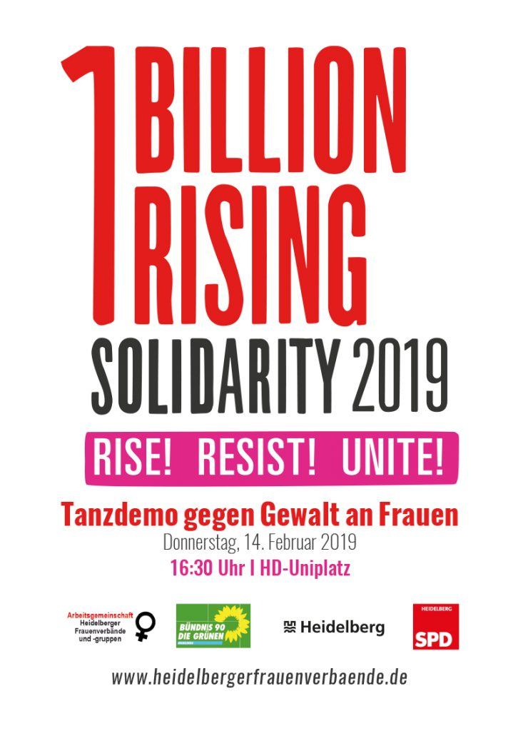 One Billion Rising 2019 Heidelberg