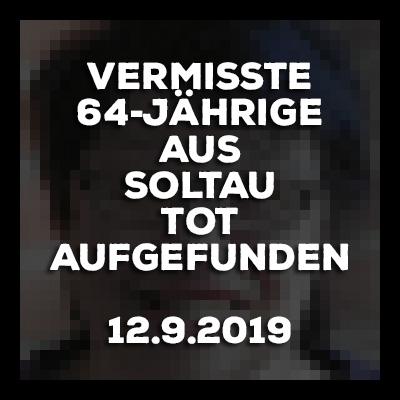 Vermisste 64-Jährige aus Soltau tot aufgefunden