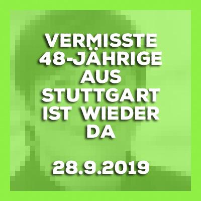 2019-09-28-Stuttgart-Untertuerkheim-Vermisste-48-Jaehrige-wohlbehalten-angetroffen