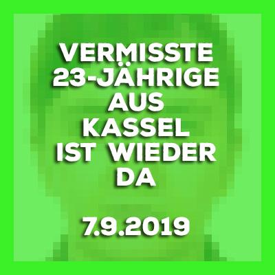 20190907-Vermisste-23-Jaehrige-aus-Kassel-ist-wieder-da