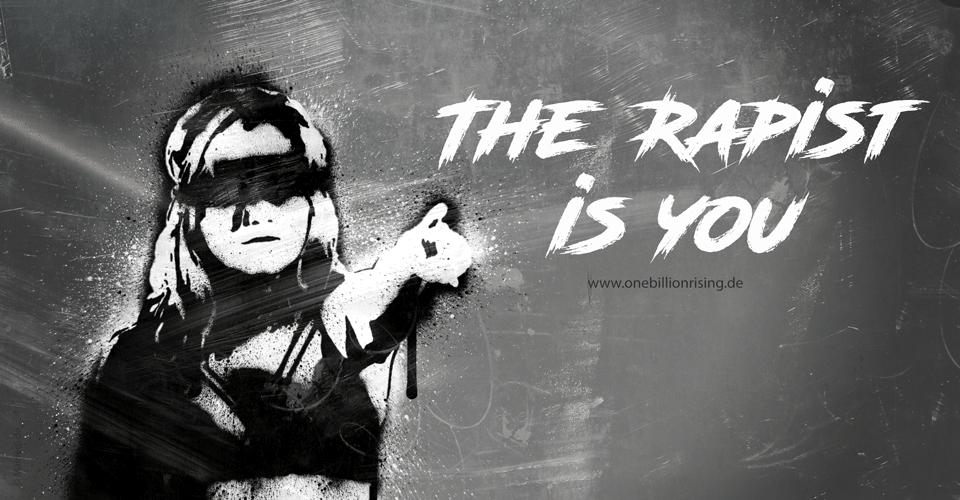 The rapist is you - El violador eres tú - Grafik SMM