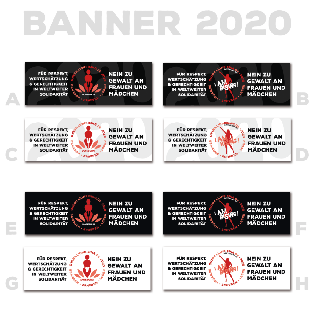 One Billion Rising 2020 Banner