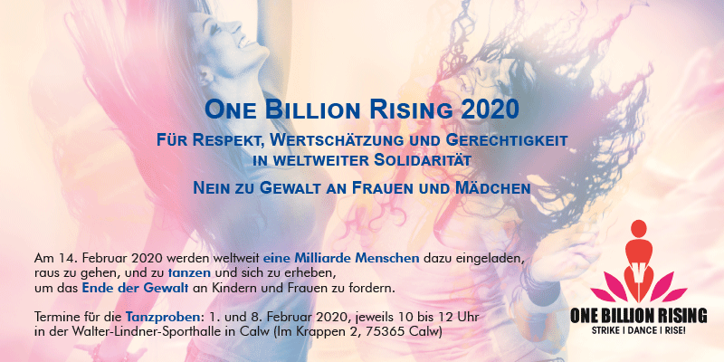 One Billion Rising Calw 2020