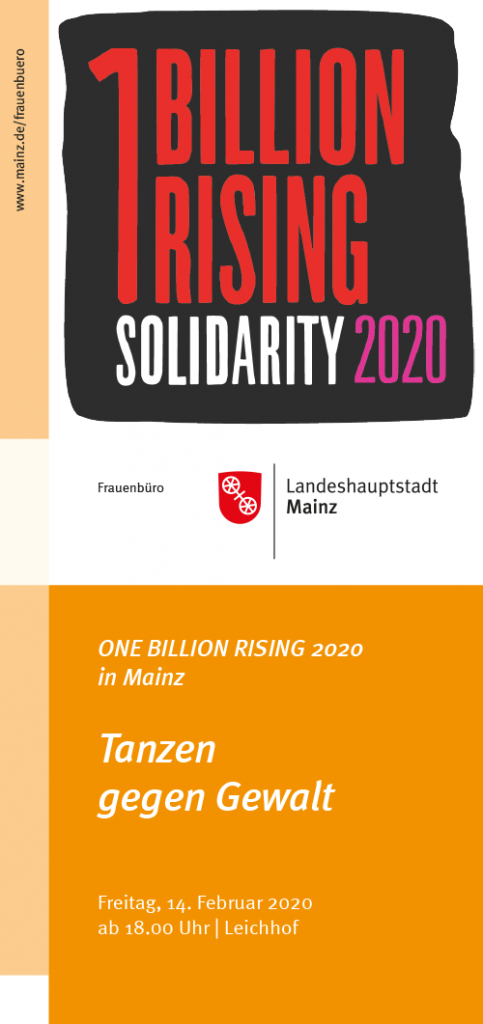 One Billion Rising 2020 Mainz