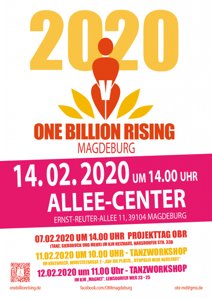 One Billion Rising 2020 Magdeburg