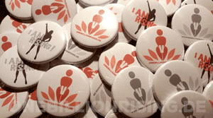 One Billion Rising Buttons