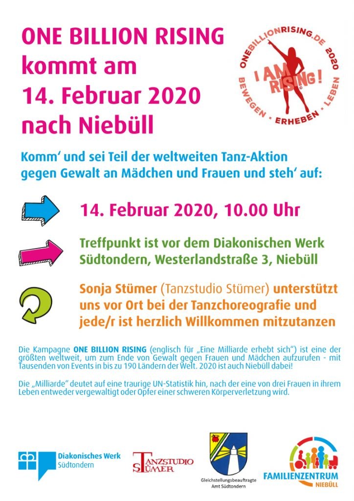 One Billion Rising 2020 Niebüll