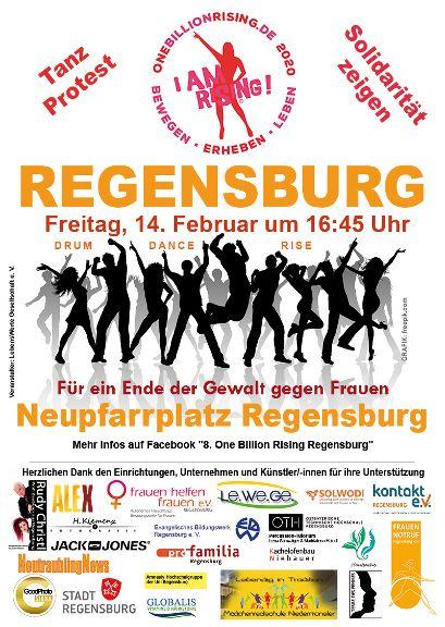 One Billion Rising 2020 Regensburg