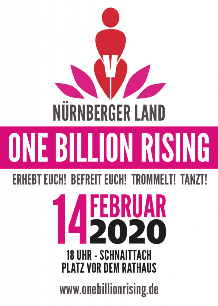 One Billion Rising Flyer Schnaittach 2020