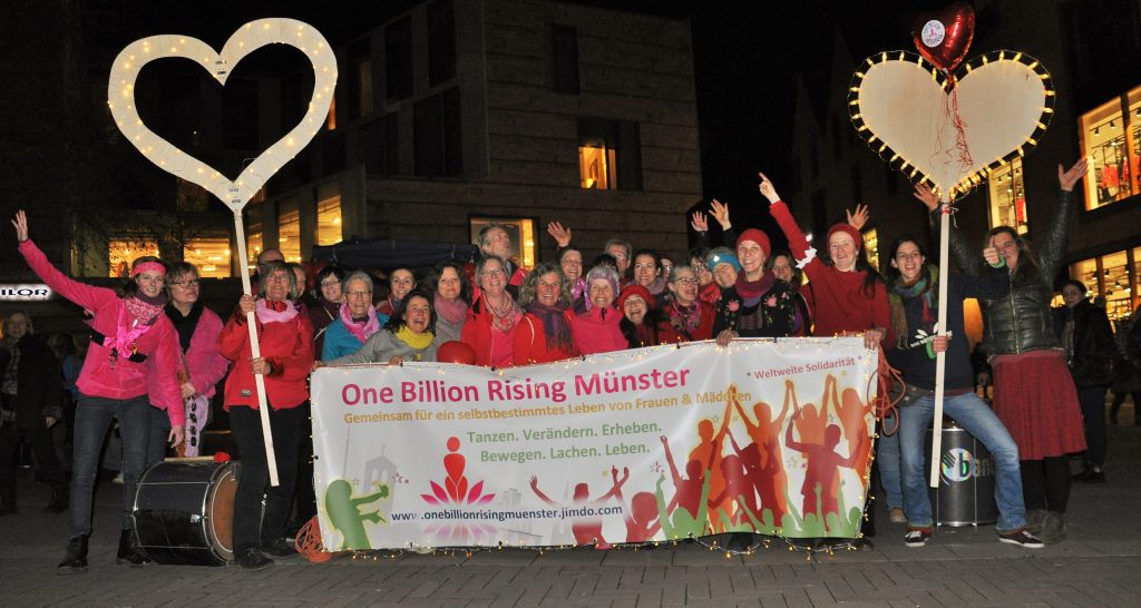 One Billion Rising in Münster