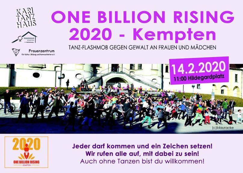 One Billion Rising 2020 Kempten