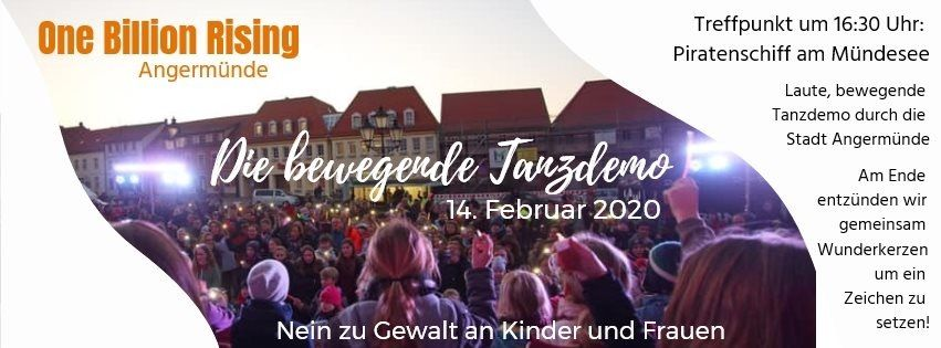 One Billion Rising 2020 Angermünde