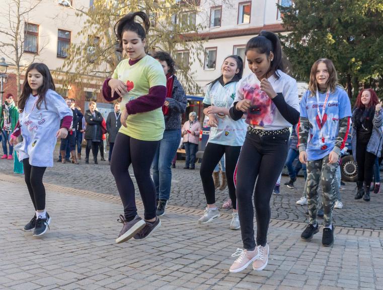 One Billion Rising 2020 Burg (bei Magdeburg)
