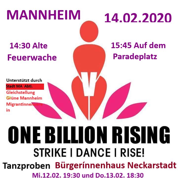 One Billion Rising 2020 Mannheim