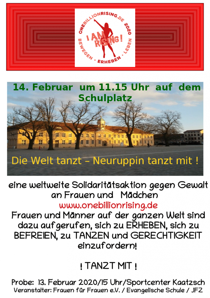 One Billion Rising 2020 Neuruppin