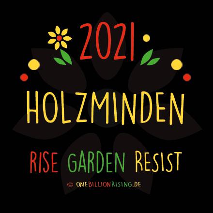 One Billion Rising 2021 Holzminden #risinggardens