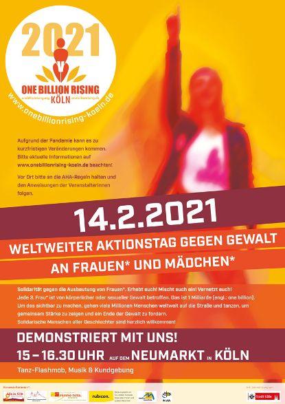 #Koeln is Rising 2021 - #onebillionrising #risinggardens #obrd