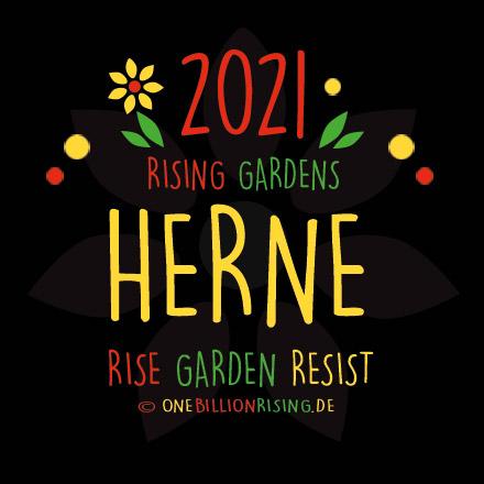 Herne is Rising 2021 - #onebillionrising #risinggardens #obrd