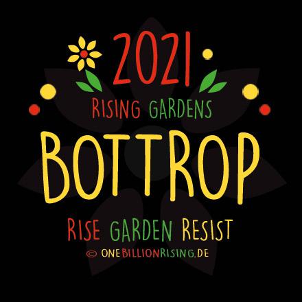 One Billion Rising - 2021 - Bottrop - Rising Gardens