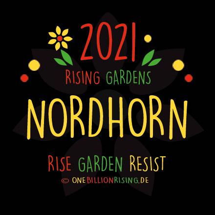 Nordhorn is Rising 2021 - #onebillionrising #risinggardens #obrd