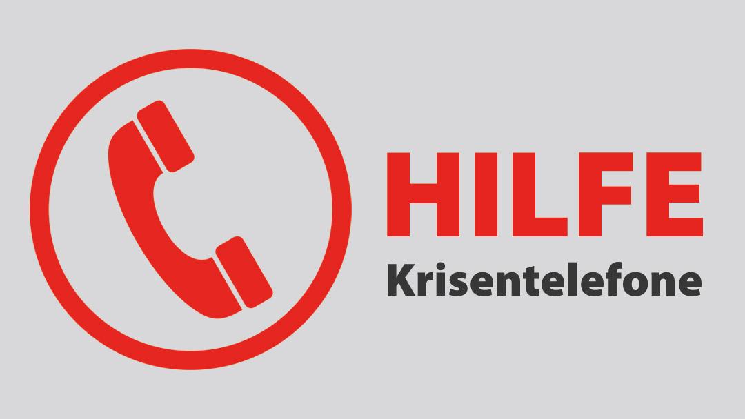 Hilfen in Krisen-Situationen - Hilfetelefone