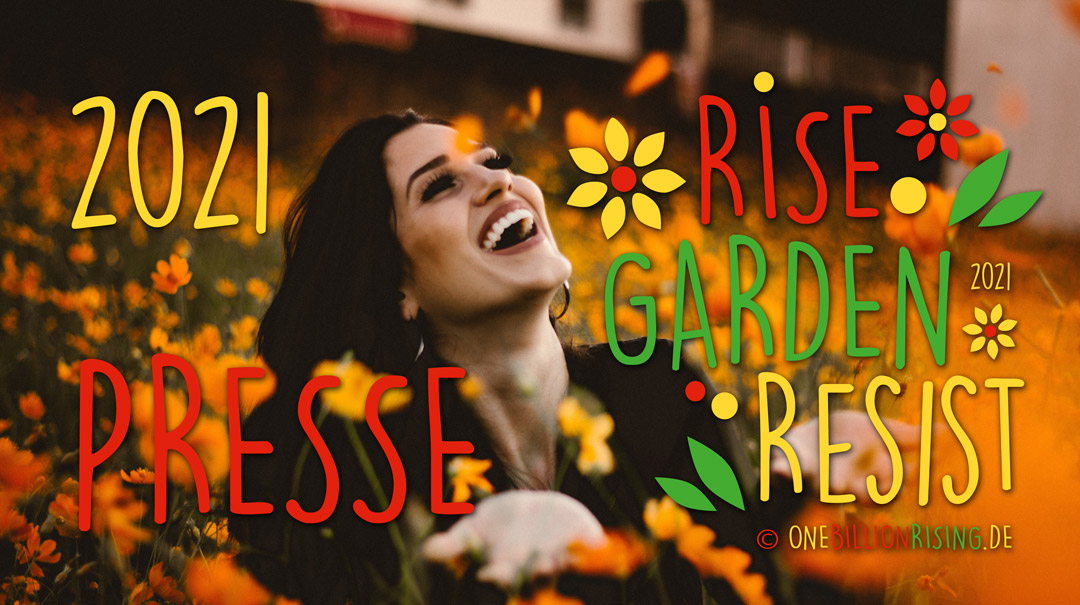 presse onebillionrising risinggardens germany 2021
