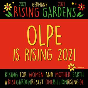 Olpe #RisingGardens 2021 #onebillionrising
